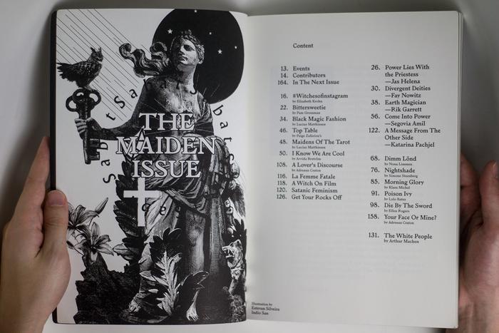 Sabat Magazine 1, The Maiden Issue 2