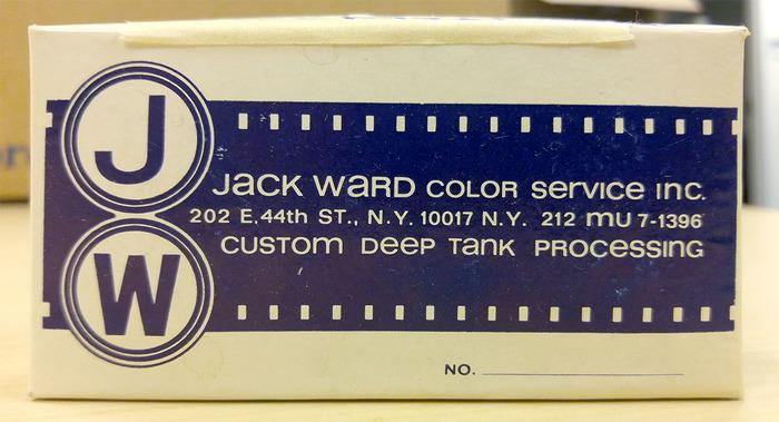 Jack Ward Color Service Inc.