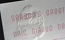 Eric Giroud holiday card
