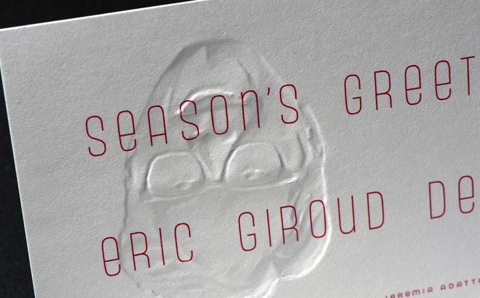 Eric Giroud holiday card 1