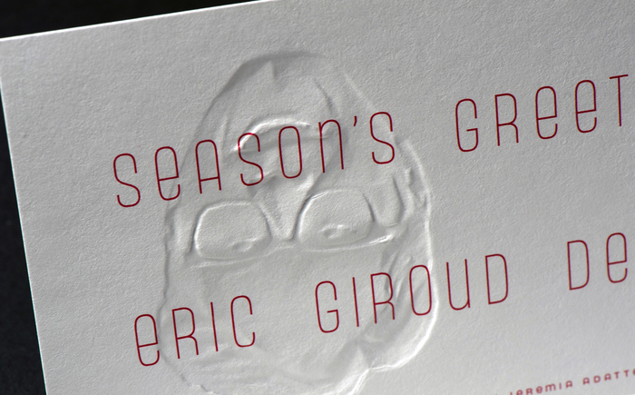 Eric Giroud holiday card 1