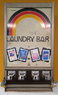 Vend-Rite's Laundry Bar