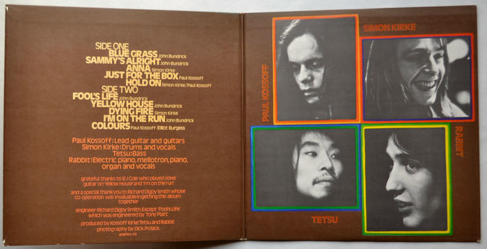 Kossoff Kirke Tetsu Rabbit album art 2