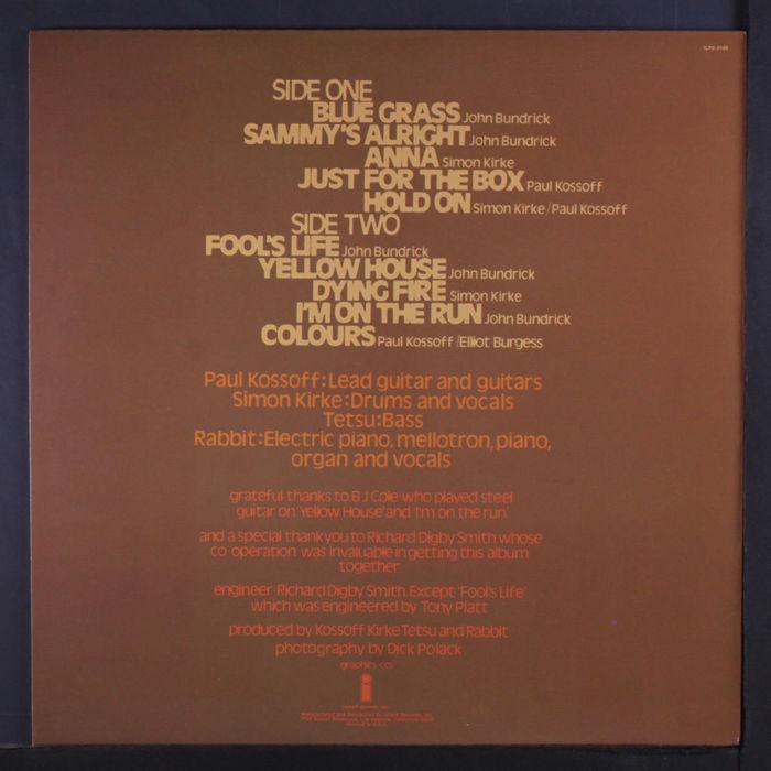 Kossoff Kirke Tetsu Rabbit album art 3
