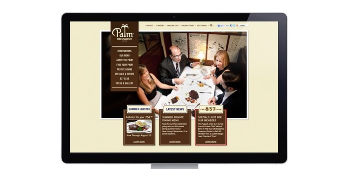 Palm Restaurant (2009 redesign) 3