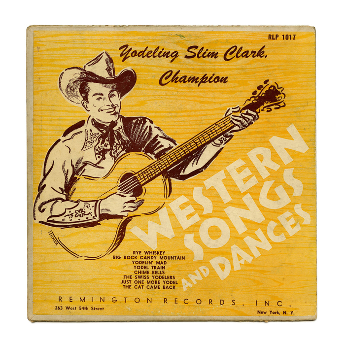Yodeling Slim Clark – Western Songs And Dances album art