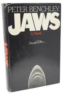 <cite>JAWS</cite> by Peter Benchley, Doubleday edition