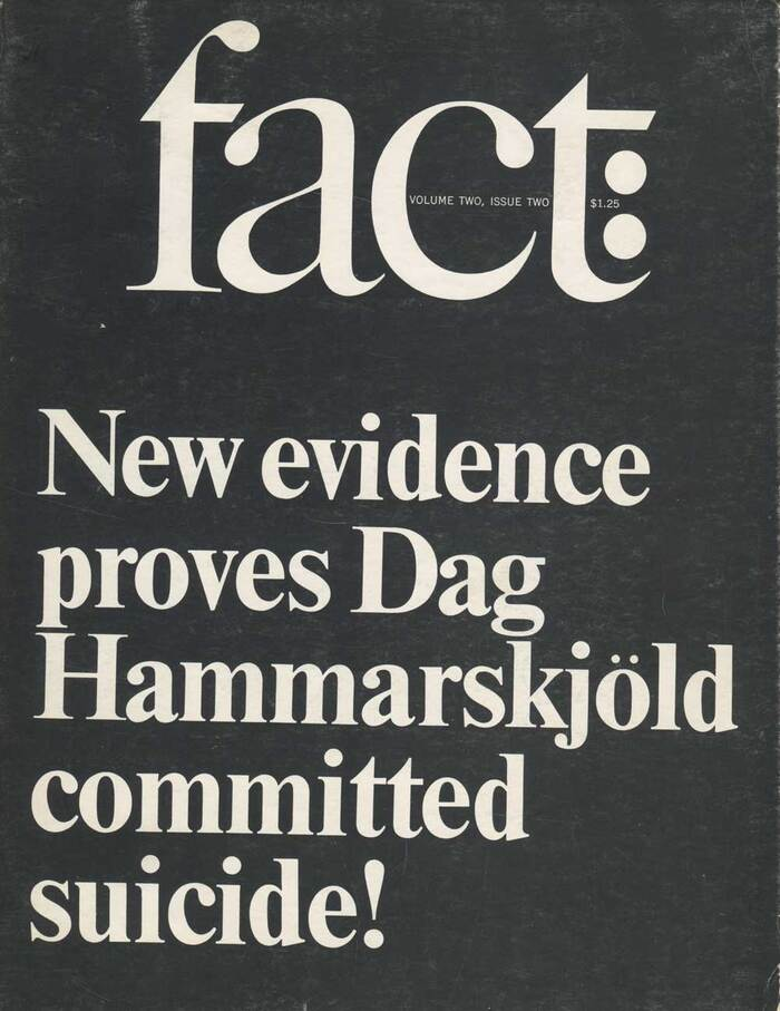 Fact magazine covers 8