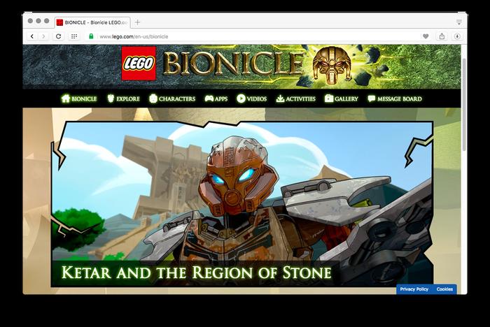 LEGO Bionicle 5