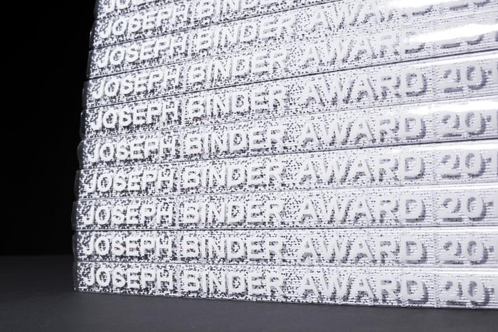 Joseph Binder Award 2016 2