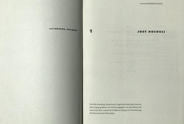 Gutenberg-Galaxie 1 – Jost Hochuli 3