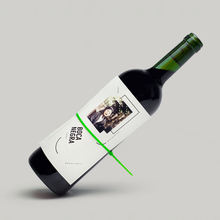 Boca Negra wine label