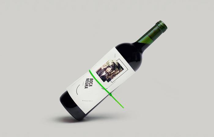 Boca Negra wine label 1