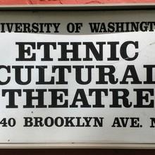 Ethnic Cultural Theatre sign