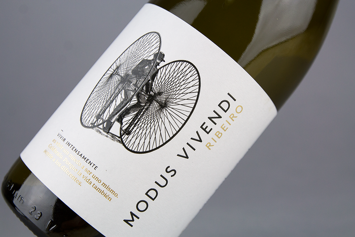 Modus Vivendi wine label 1