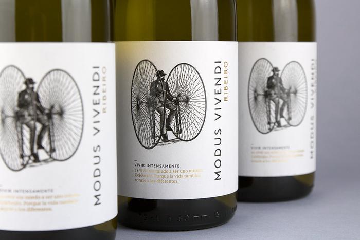 Modus Vivendi wine label 2