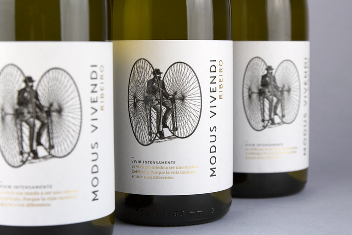 Modus Vivendi wine label 2