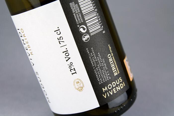 Modus Vivendi wine label 3