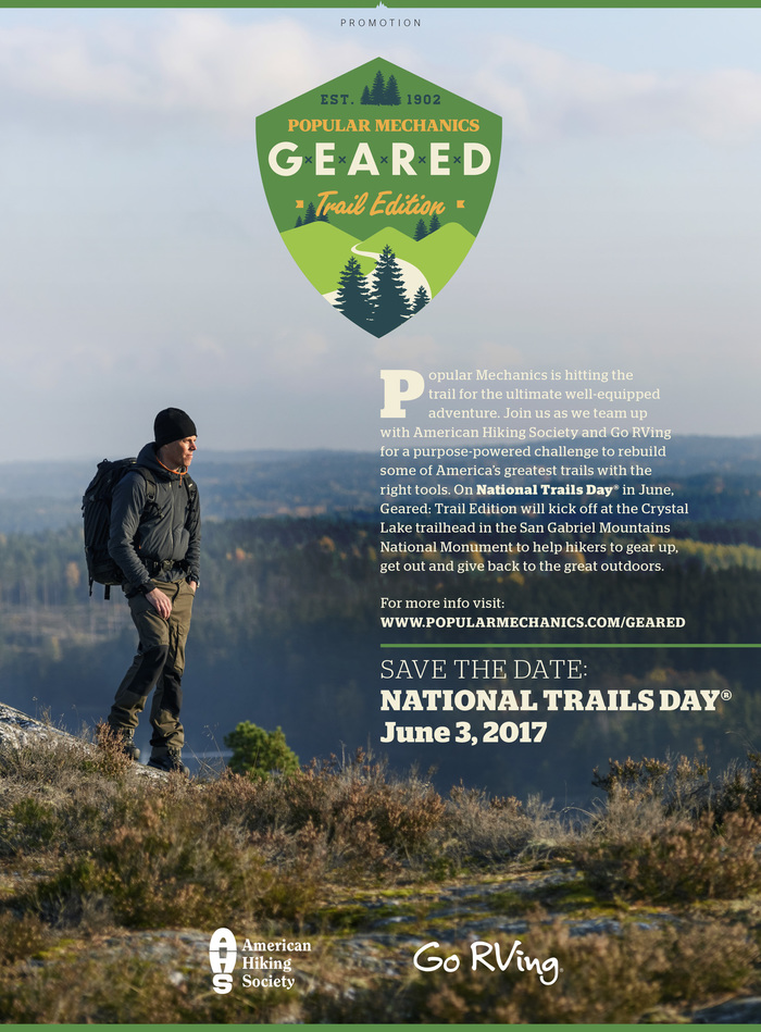 Popular Mechanics Geared Trail Edition 2