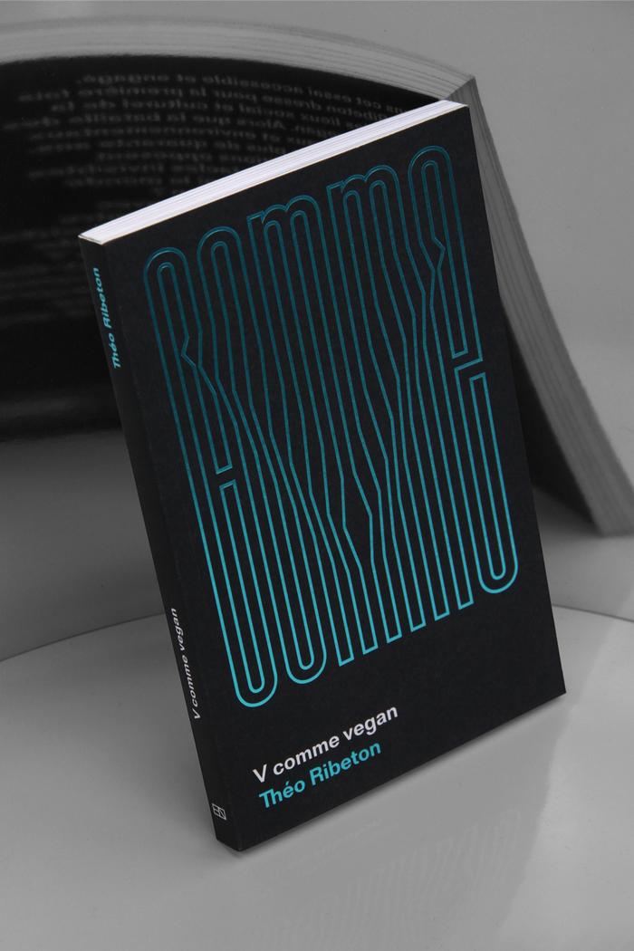 V comme vegan by Théo Ribeton, Éditions Nova 1