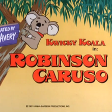 <cite>The Kwicky Koala Show</cite> title cards