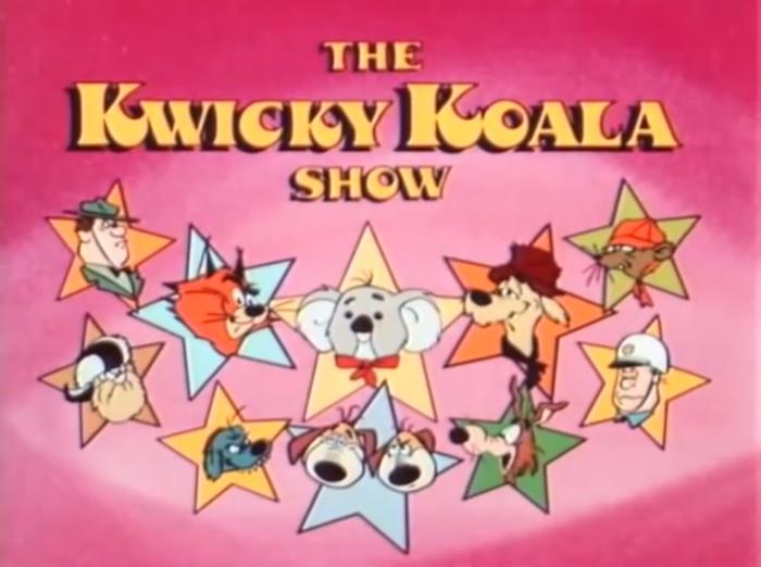 The Kwicky Koala Show title cards 1