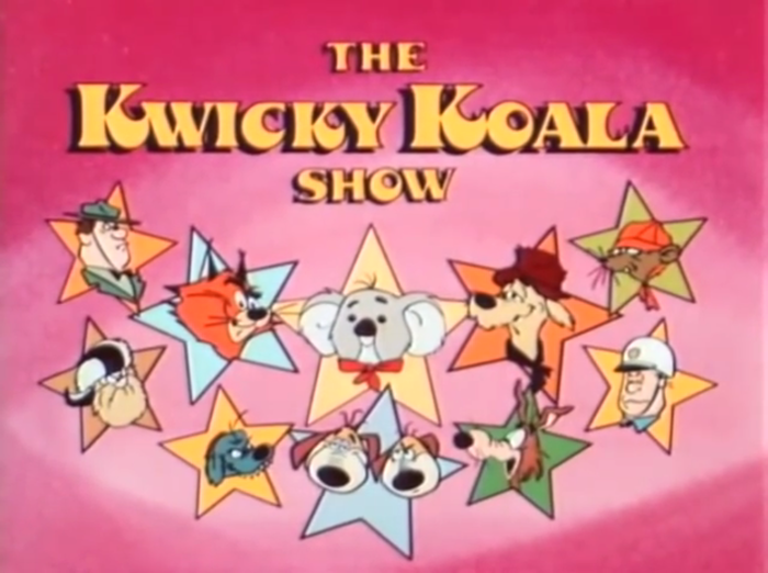 The Kwicky Koala Show title cards 1