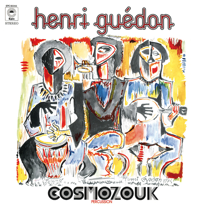 Henri Guédon – Cosmozouk album art 1