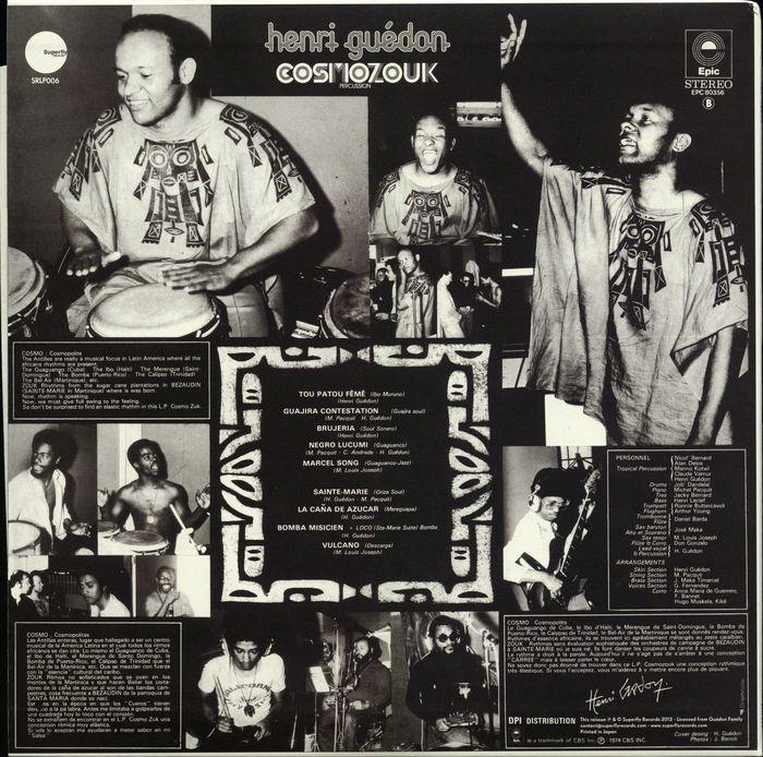 Henri Guédon – Cosmozouk album art 2