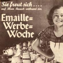 """Emaille-Werbe-Woche"" leaflet"