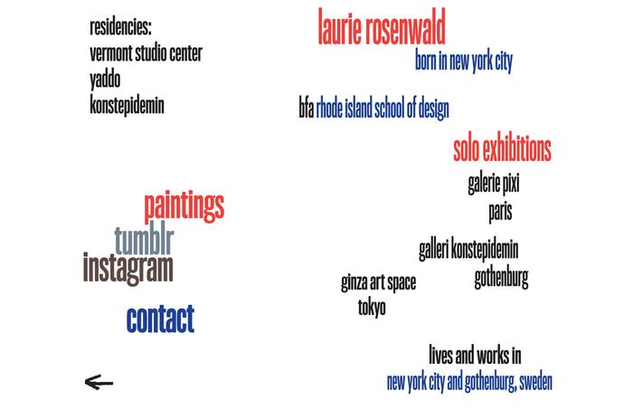 Laurie Rosenwald Paintings website 2