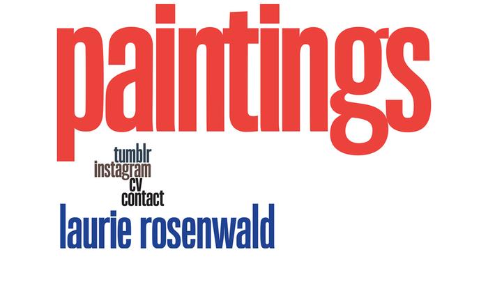 Laurie Rosenwald Paintings website 1