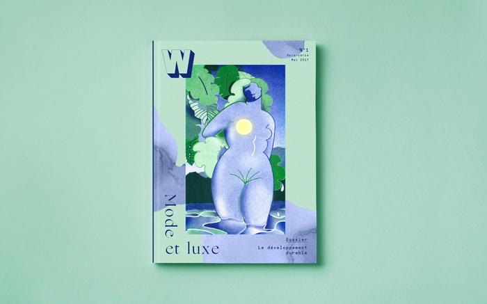 W magazine #1 1