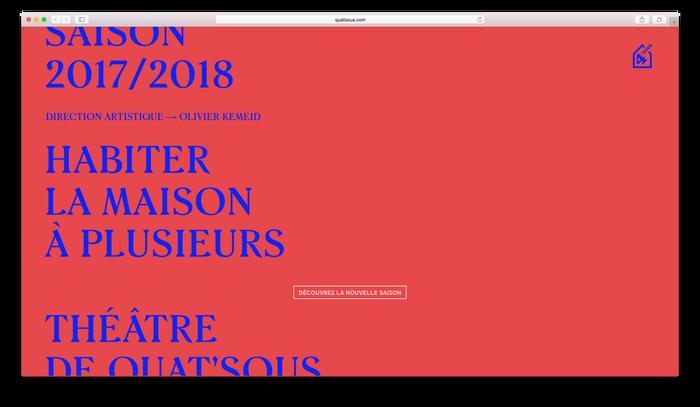 Théâtre de Quat'Sous 2017/18 6
