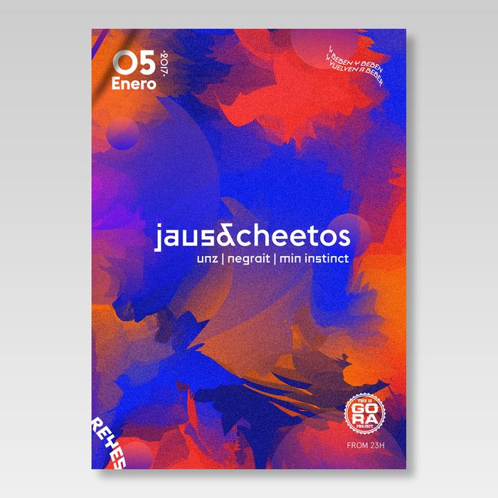 Jaus & Cheetos poster