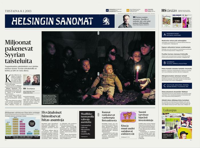 Helsingin Sanomat redesign (2013) 1