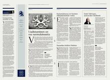 <cite>Helsingin Sanomat </cite>redesign (2013)