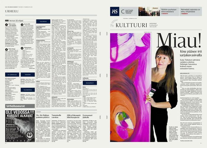 Helsingin Sanomat redesign (2013) 4