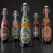 New beer labels for Brauerei Kummert, Amberg