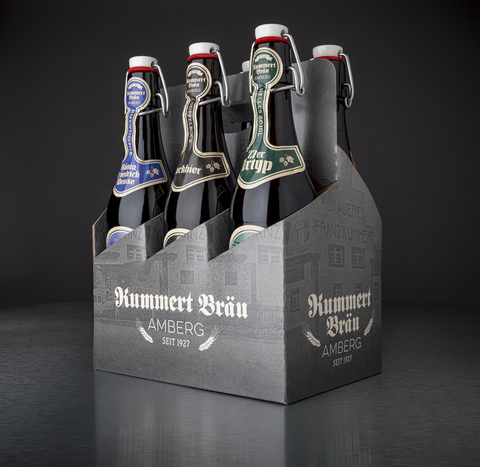 New beer labels for Brauerei Kummert, Amberg 3