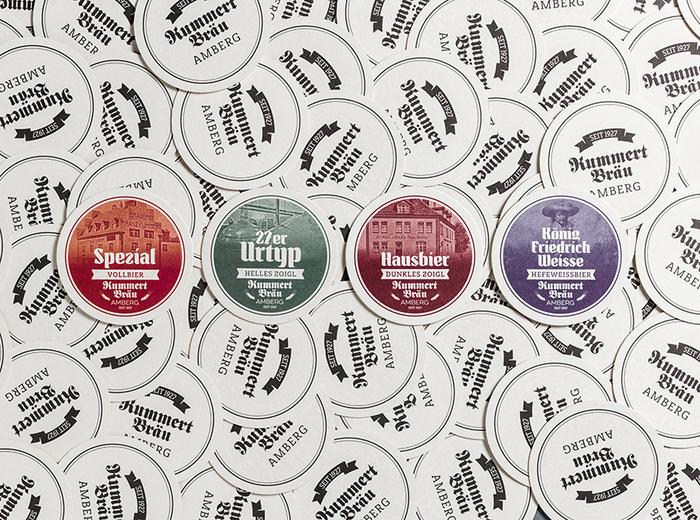 New beer labels for Brauerei Kummert, Amberg 5