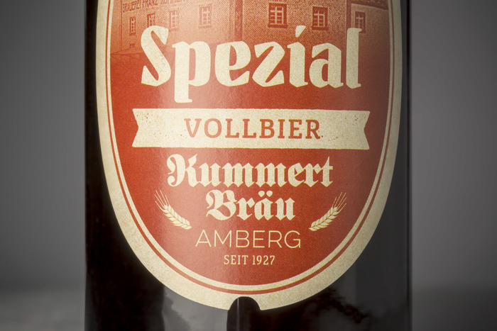 New beer labels for Brauerei Kummert, Amberg 9