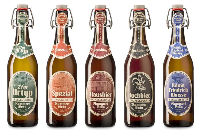 New beer labels for Brauerei Kummert, Amberg 11