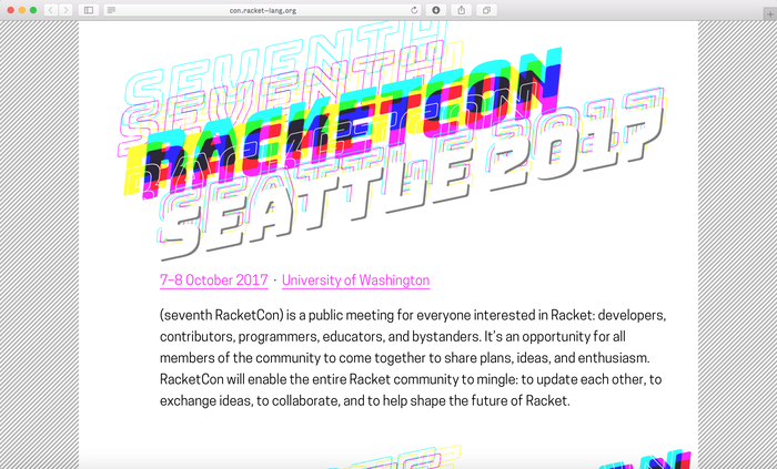 Seventh RacketCon 1
