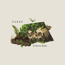 Taxes – <cite>It Never Ends </cite>and <cite>Kali </cite>album art