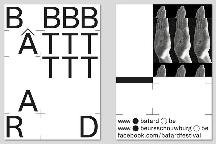 Bâtard 2016 festival identity 2