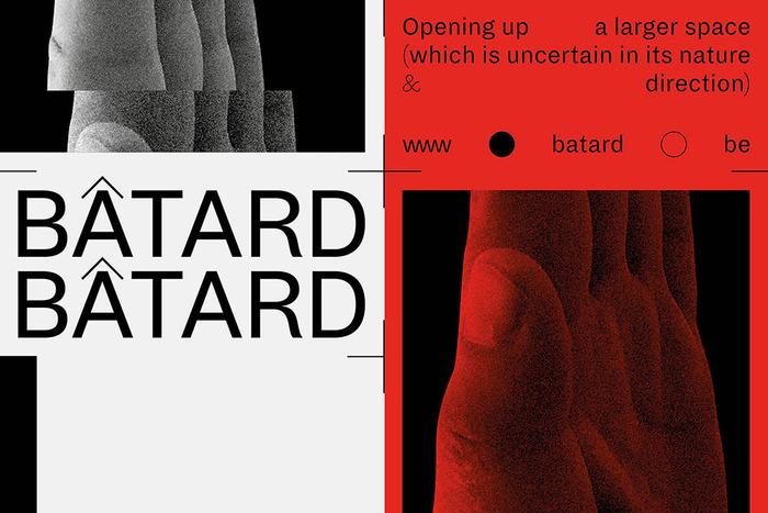 Bâtard 2016 festival identity 1