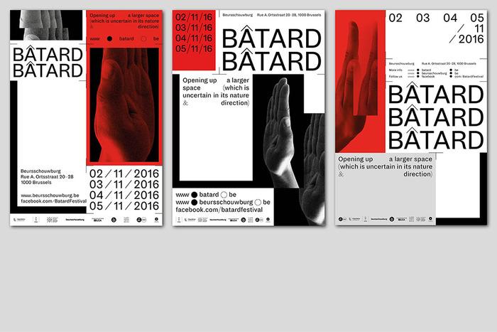 Bâtard 2016 festival identity 3