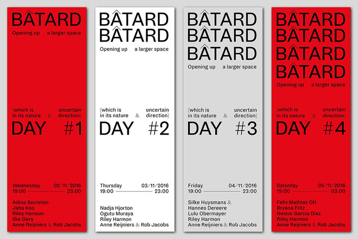 Bâtard 2016 festival identity 6