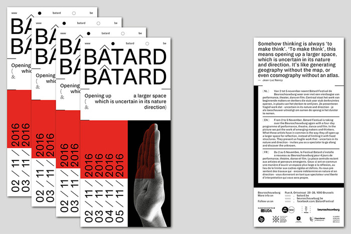 Bâtard 2016 festival identity 7